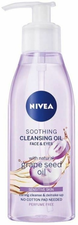 Nivea Cleansing Oil Soothing Grape Seed
