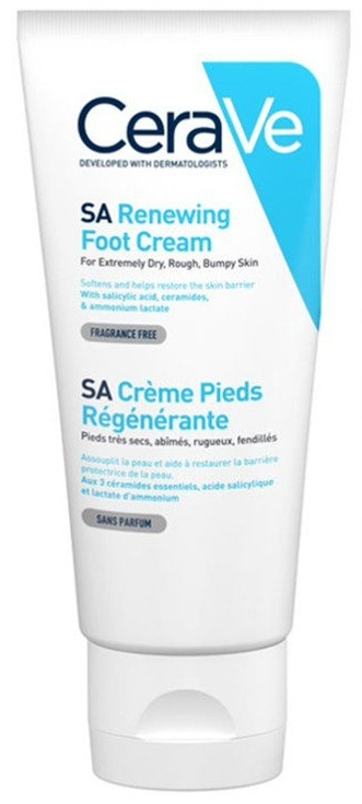 CeraVe SA Renewing Foot Cream