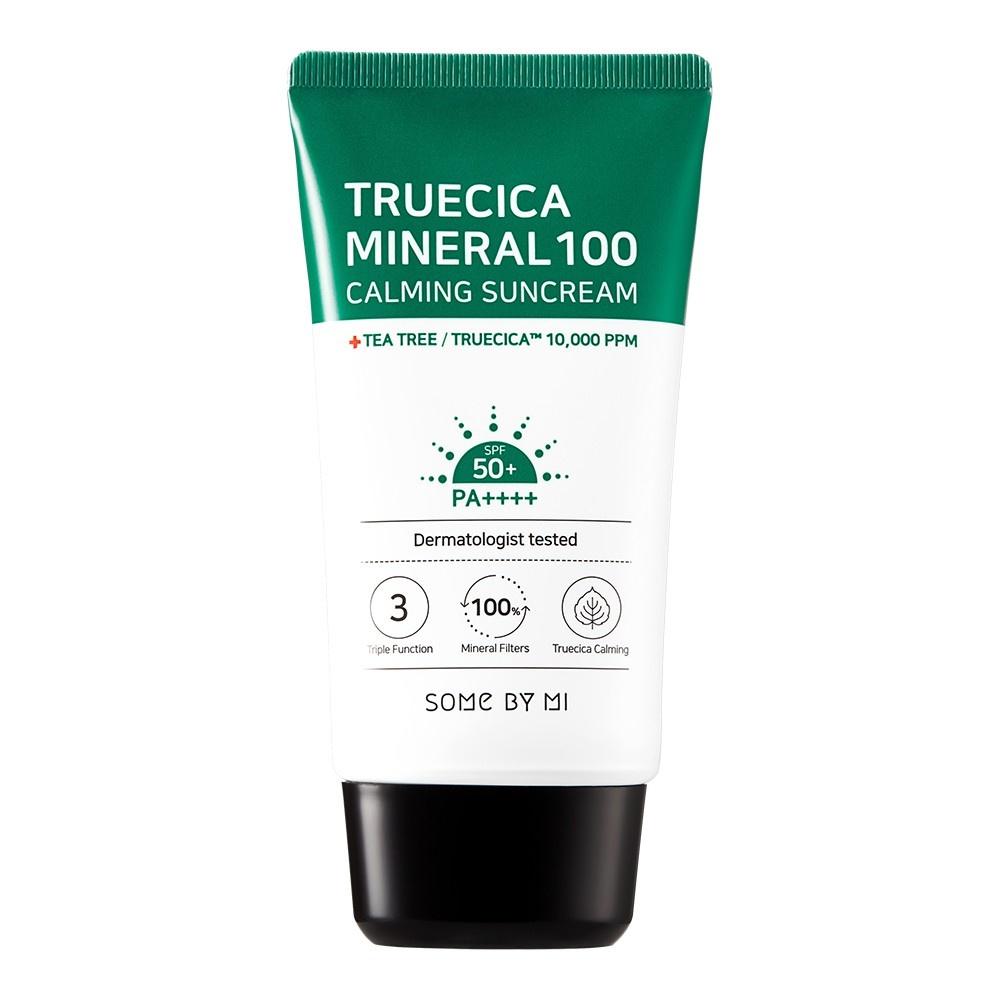 Some By Mi Truecica Mineral 100 Calming Suncream SPF 50+ PA++++