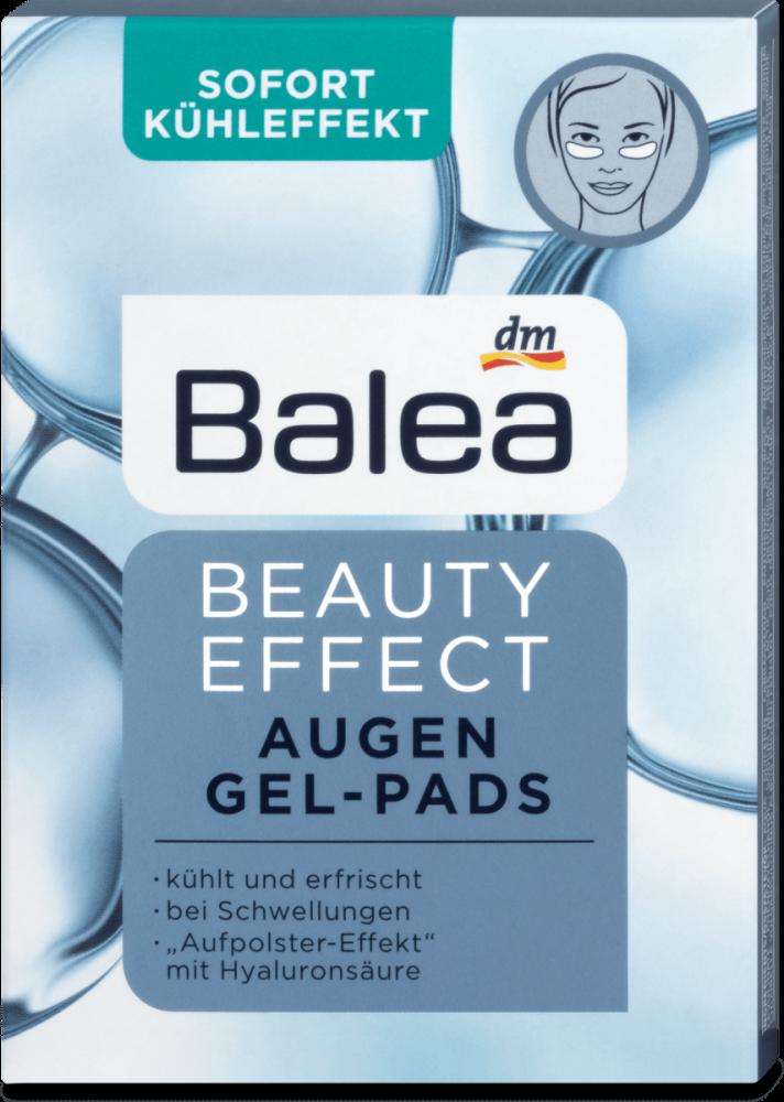 Balea Gélové Očné Tampóny Beauty Effect