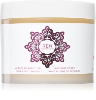 Ren Clean Skincare Moroccan Rose Otto Sugar Body Polish