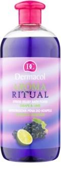 Dermacol Aroma Ritual Bath Foam Grape & Lime