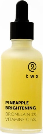 Two Cosmetics Pineapple Brightening Serum Bromelain 1%, Vitamin C 5%