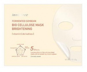 Innisfree Multi-Purpose Fermented Soybean Bio Cellulose Mask - Brightening