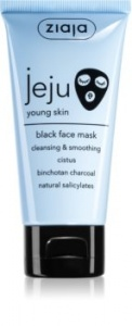 Ziaja Jeju Young Skin Black Face Mask
