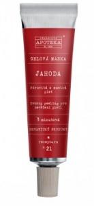 Havlíková apotéka Gélová maska Jahoda