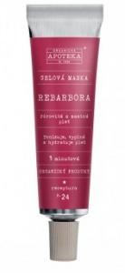 Havlíková apotéka Gélová maska Rebarbora