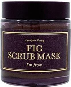 I'm From Fig Scrub Mask