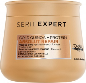 L'Oréal Professionnel Serie Expert Gold Quinoa + Protein Absolut Repair Masque