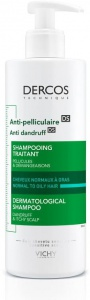 Vichy Dercos Anti-Dandruff Shampoo For Normal To Oily Hair