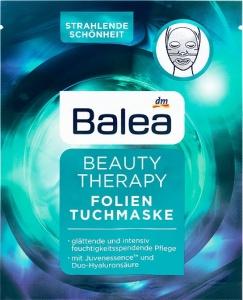 Balea textilná pleťová maska Beauty Therapy