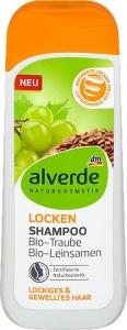 Alverde šampón na kučeravé vlasy hrozno a ľanové semienka