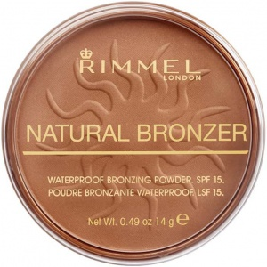 Rimmel Natural Bronzer Waterproof Bronzing Powder SPF15