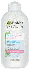 Garnier Pure Active Anti Blemish Clarifying Tonic Sensitive Skin