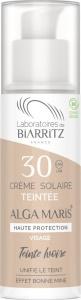 Laboratoire Biarritz Alga Maris Organic Tinted Face Sun Cream SPF30